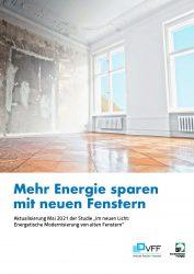 VFF-BF-Studie 2021 - Energetische Modernisierung Fenster - DE-ES